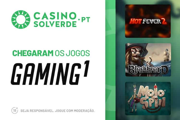Gaming1 Chegou ao Casino Solverde