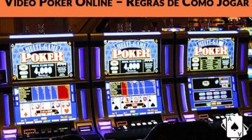 Video Poker Online – Regras de Como Jogar