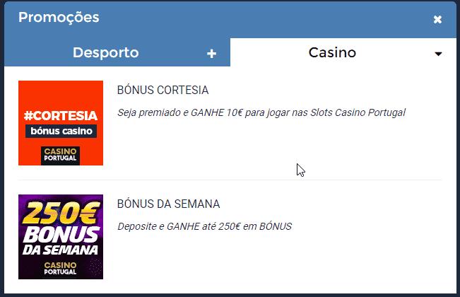 Bónus Casino Portugal