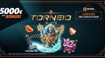 Torneio de Slots Corre para os 5000€ em Bónus