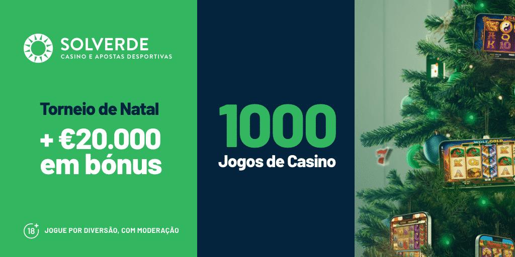 Torneio de Natal mais de €20.000 em prémios